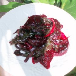 Beets and Greens Salad