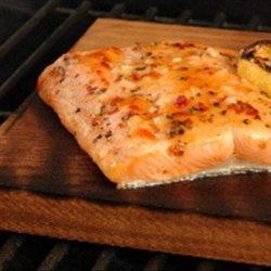 Cattle Boyz Cedar Plank Grilled Salmon recipe