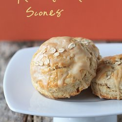 Maple-Oatmeal Scones
