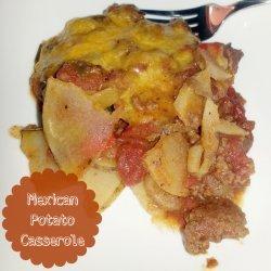 Mexican Potato Casserole (Weight Watchers)