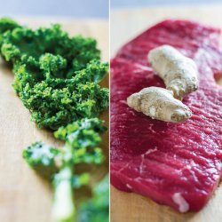 Ginger Beef and Kale