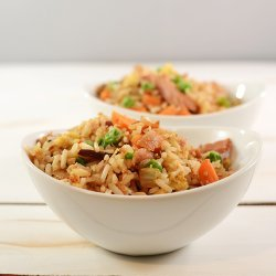 Ham Fried Rice recipe