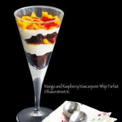 Mango-Raspberry Parfaits