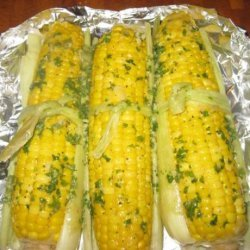 Heavenly Grilled Corn! recipe