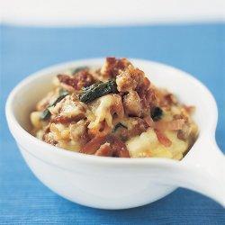 Potato Spinach Sausage Casserole