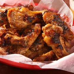Grilled Mustard Chicken Wings