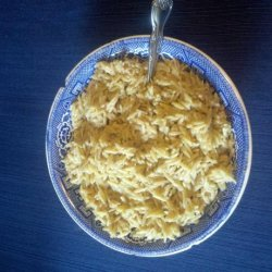 Cheesy Orzo Pilaf