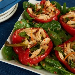 Roasted Bell Peppers Salad