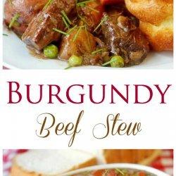 Beef Burgundy Stew