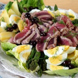 Salad Niçoise With Tuna