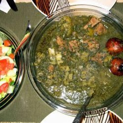 Khoresht Karafs - Persian Celery Stew