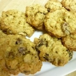 Old Fashined Oatmeal Cookies With Variations
