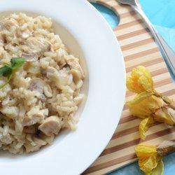 Chicken and Mushroom Risotto recipe