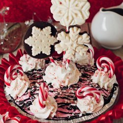 Peppermint Ice Cream Pie