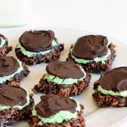 Fudgy Mint Cookies recipe