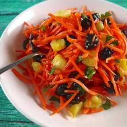 Carrot Pineapple Slaw