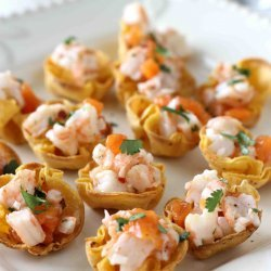 Shrimp and Corn Cups
