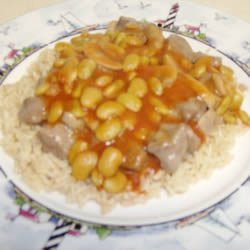 Steak and Lima Rice