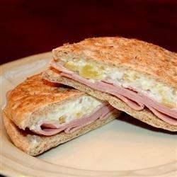 Ham Pineapple Sandwiches