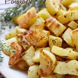 Roast Potatoes and Garlic