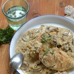 White Wine and Mushroom Chicken