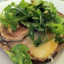 Portabella Mushroom Pizza