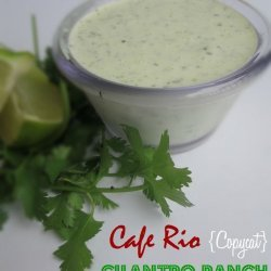 Cafe Rio Copycat Cilantro Ranch Dressing
