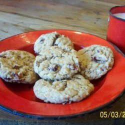 Nutty Oatmeal Cookies