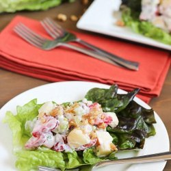Lightened Waldorf Salad recipe