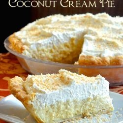 Best Coconut Pie