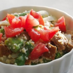 Couscous With Asparagus and Lime