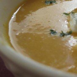 Sweet Potato Lentil and Lime Soup