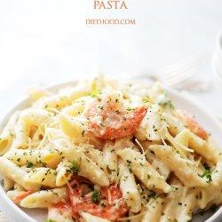 Shrimp & Pasta With Lemon Cream Sauce