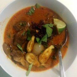 Penang Chicken Curry (Penang Gai)