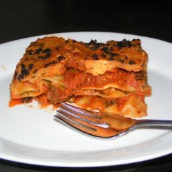 Healthy Diabetic 4-Cheese Spinach Lasagna Ala Elswet
