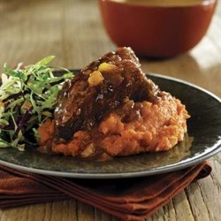 Beef Short Ribs With Barbecue Sauce