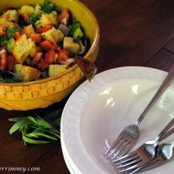 Bread Salad With Fresh Tomatoes (panzanella)
