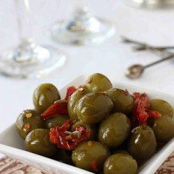 Marinated Olives & Tomatoes