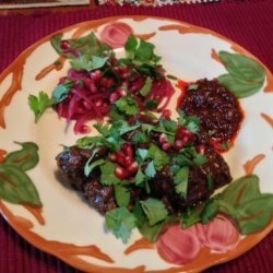Lamb Tagine With Walnuts and Pomegranate