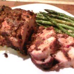 Triple S Grilled Pork Loin Roast