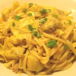 Artichokes and Tuna Pasta Sauce (Rachael Ray)