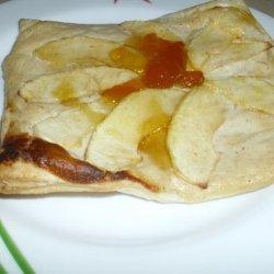 Apple & Ricotta Pastry Squares