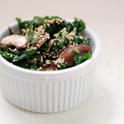 Raw Shiitake Kale Salad recipe