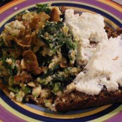 Spinach Omelette (21 Day Wonder Diet: Day 9)