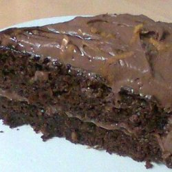 Chocolate-Orange Cake W/Chocolate-Orange Cream Cheese Frosting recipe