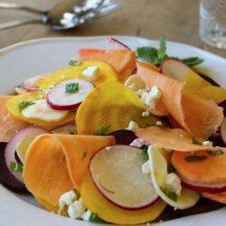 Rainbow Sweet Potato Salad