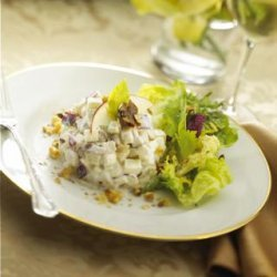 Waldorf Salad With Fresh Goat Cheese recipe