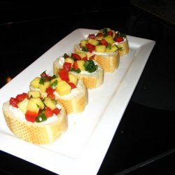 Mango Tango Bruschetta recipe