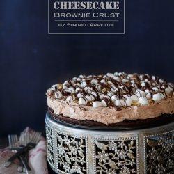 Rocky Road No-Bake Cheesecake