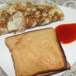 Onion Omelet